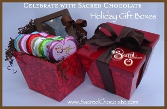 Sacred Chocolate Holiday Gift Boxes