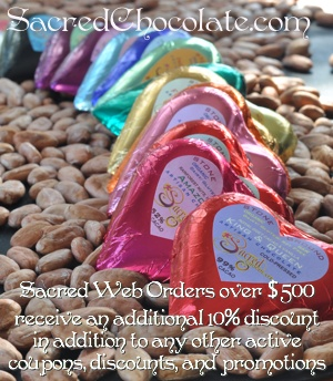Sacred Web Orders: Extra 10% Offer