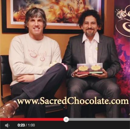 Happy Holidays from Sacred Steve and David Wolfe