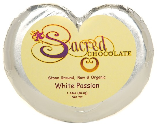 White Passion - 1.44oz Heart Bar (Dairy FREE)
