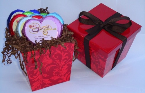 Six Sacred Hearts Chocolate Gift Box
