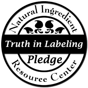 Natural Ingredients Truth in Labeling Pledge